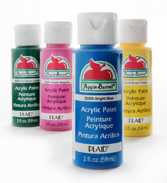 Acrylic craft paint apple barrel by plaid 2oz bottles all for Wholesale acrylic craft paint