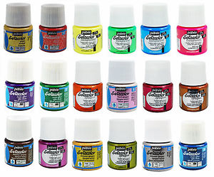 Fabric Acrylic Paints Setacolor By Pebeo 45ml